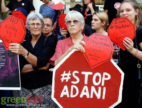 Greens call on Labor Richmond MP, Justine Elliot to publicly reject Adani coal mine - Dawn Walker MP