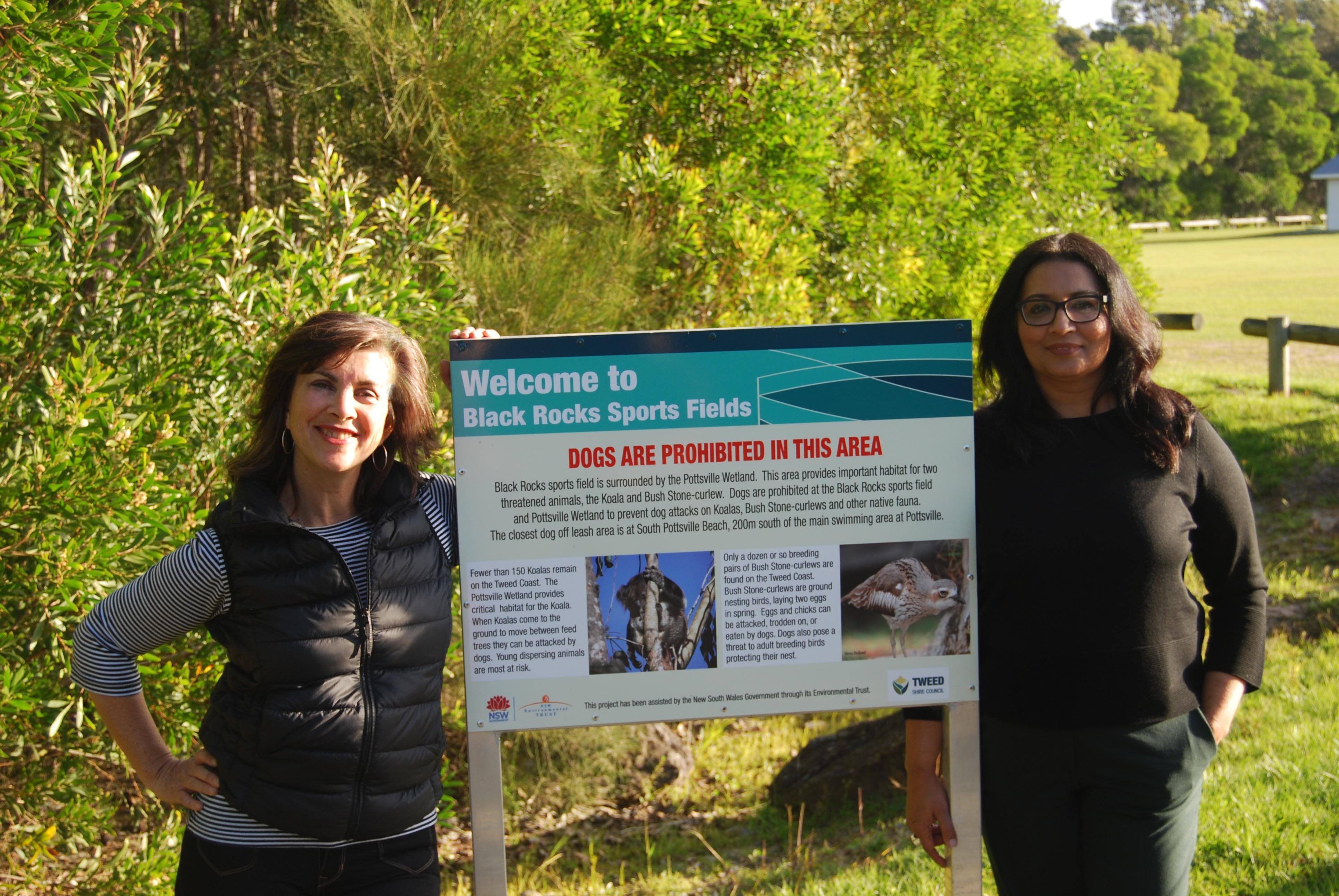 Greens call for Pottsville sports field to be relocated and rehabilitated to protect endangered koalas - Dawn Walker MP