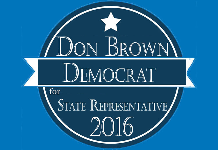 Donald Brown For Texas