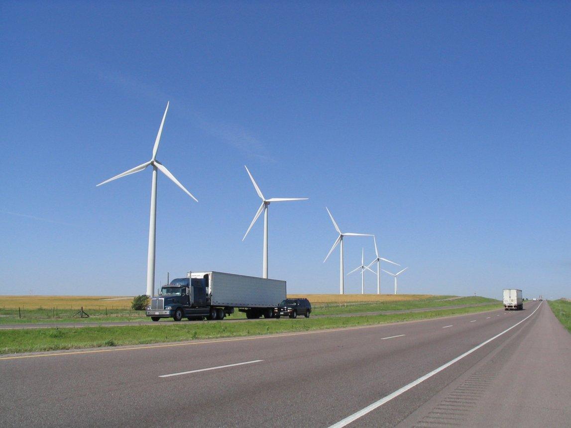 Oklahoma Wind Farms Images