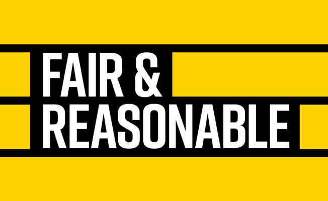 Fair and Reasonable