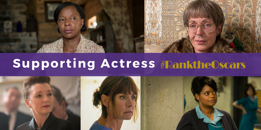 And the nominees for Best  Actress in a Supporting Role are…