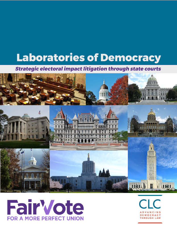 Laboratories of Democracy: Strategic electoral impact litigation through state courts