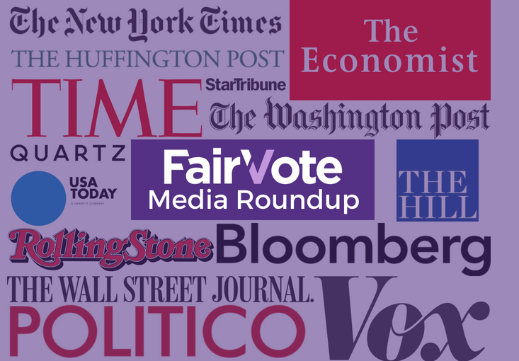 FairVote Media Round-up (6-8-18-edition)