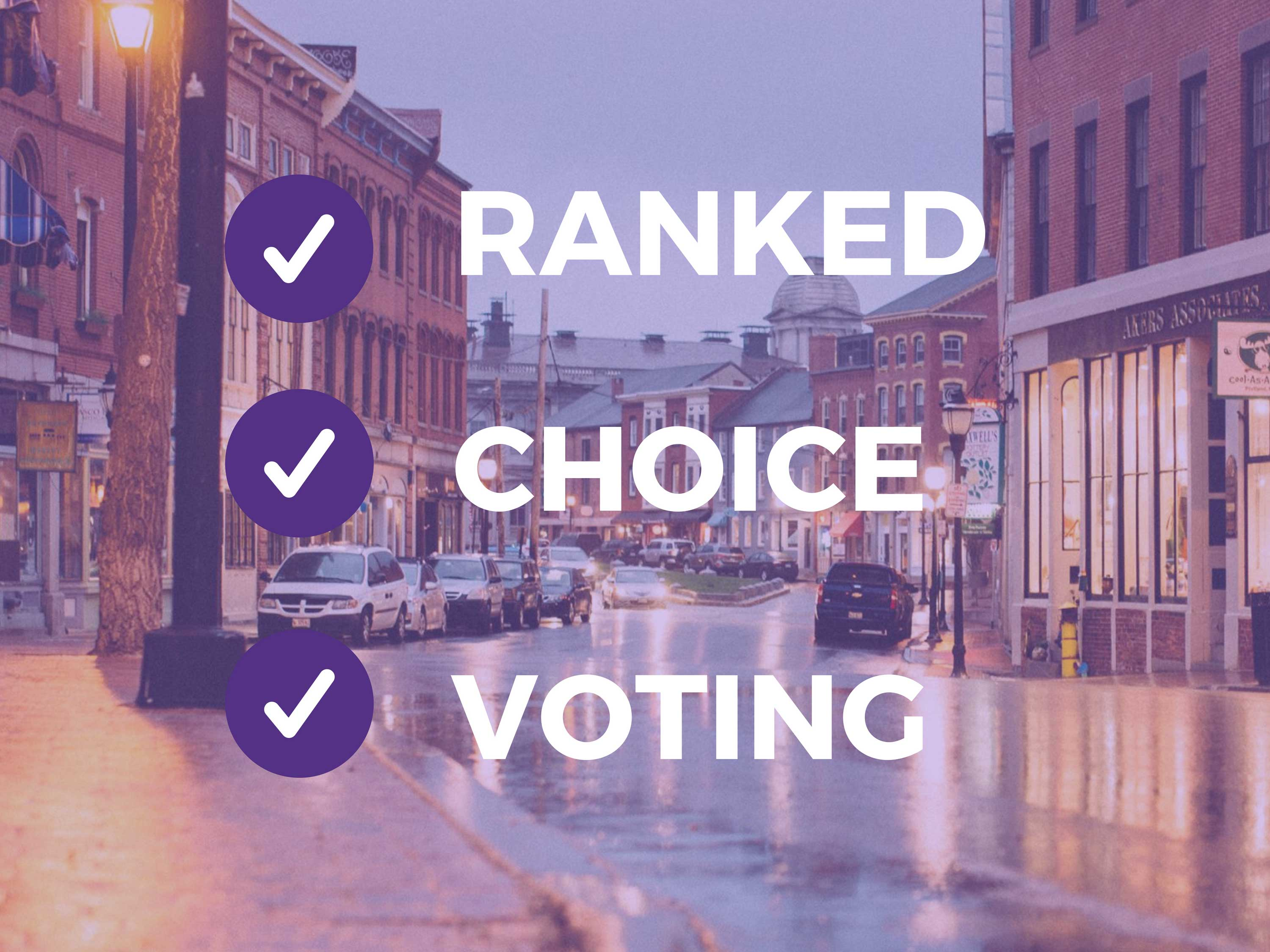Maine's 1st ranked choice voting election: clear winners, trouble free
