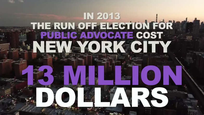New FV video promotes instant runoff voting in NYC