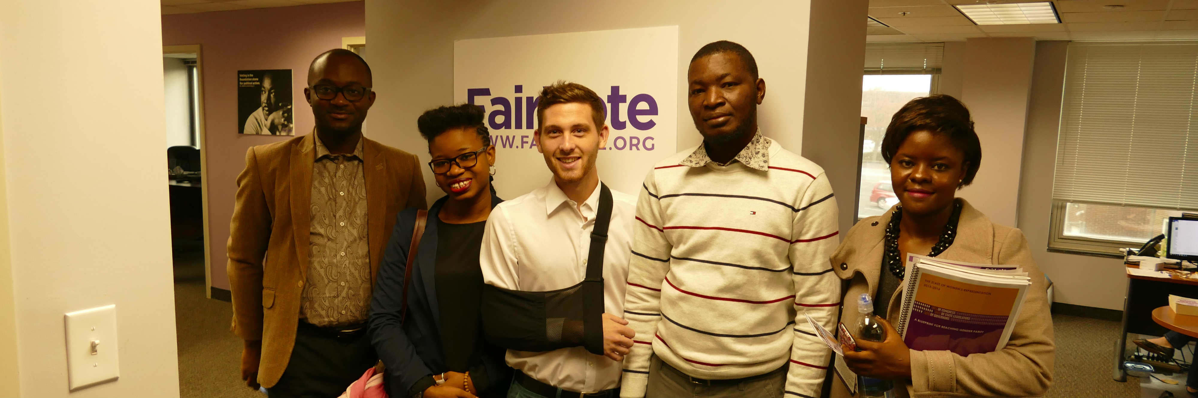 International Democracy Organizations Visit FairVote