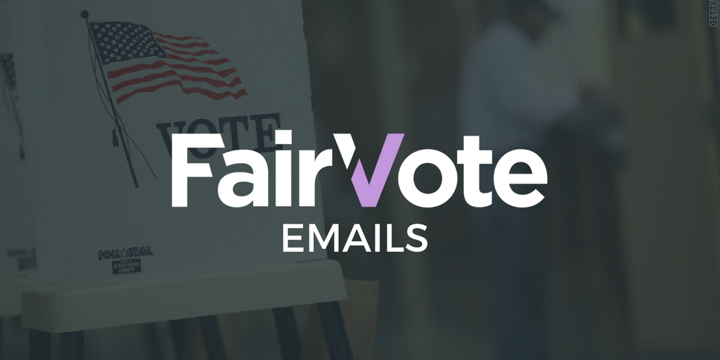 Gifts to FairVote of time, skills and charitable giving