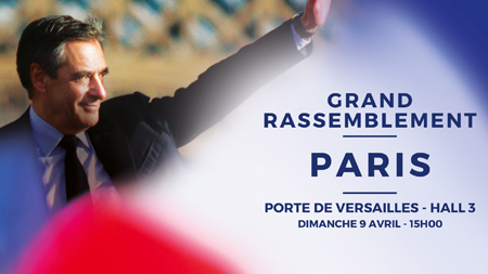 Grand Rassemblement de Paris le 9 avril