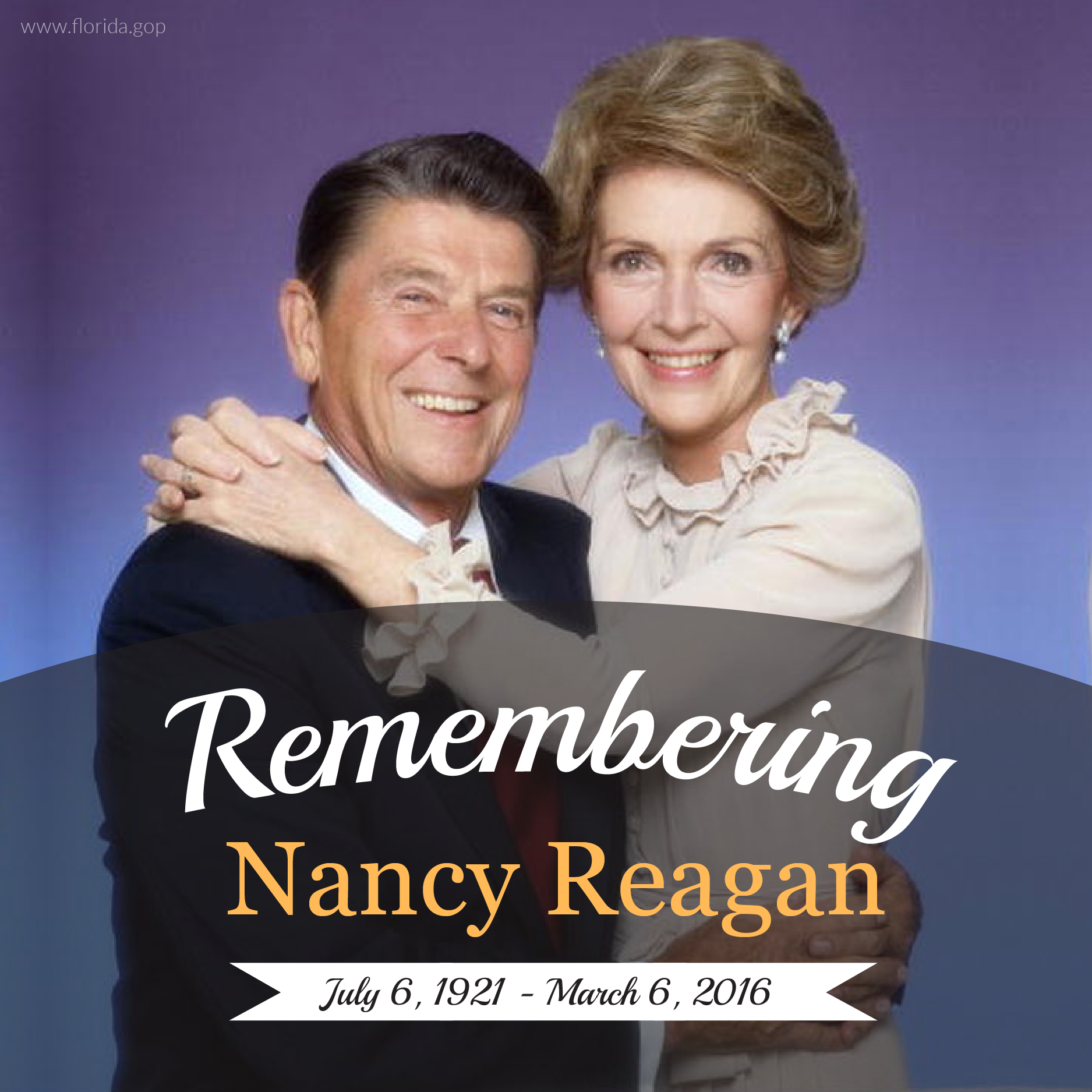 RIP Nancy Reagan
