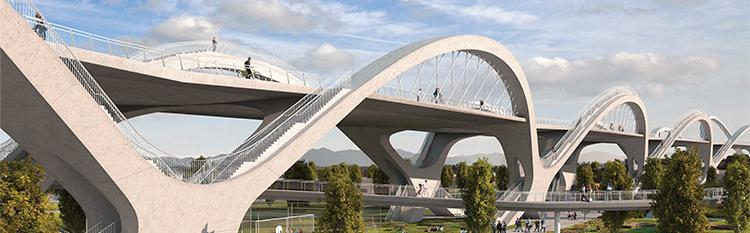 Sixth St Viaduct by Michael Maltzan