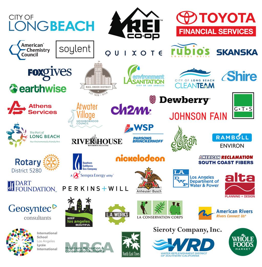 2017 Great LA River CleanUp Sponsors