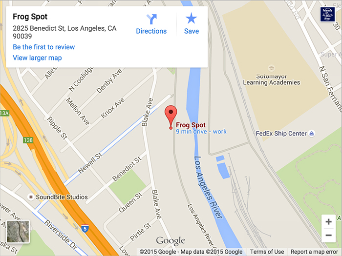 LA River By The Slice Pizza Beer Music On The River Sat - Los angeles river map