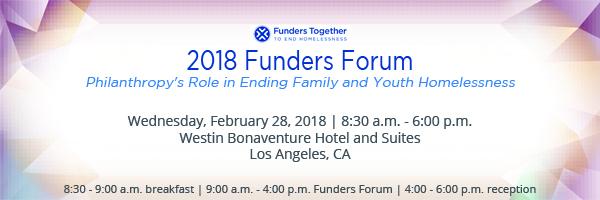2018 Funders Forum