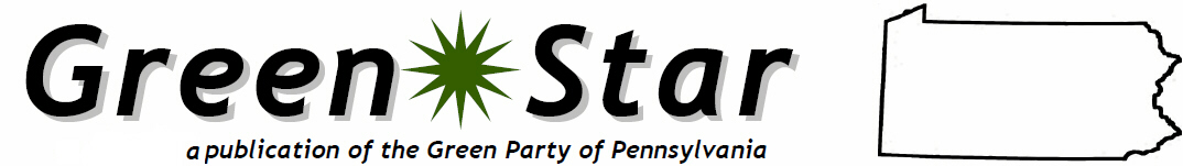 PA Green Party Newsletter