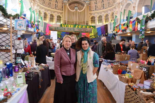 2012 Green Fair, Natalie Bennett and Sushila Dhall