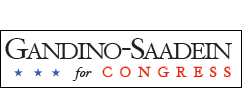 Gandino-Saadein for Congress