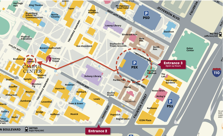 Awesome Usc Map Pdf Pictures - Printable Map - New - bartosandrini.com