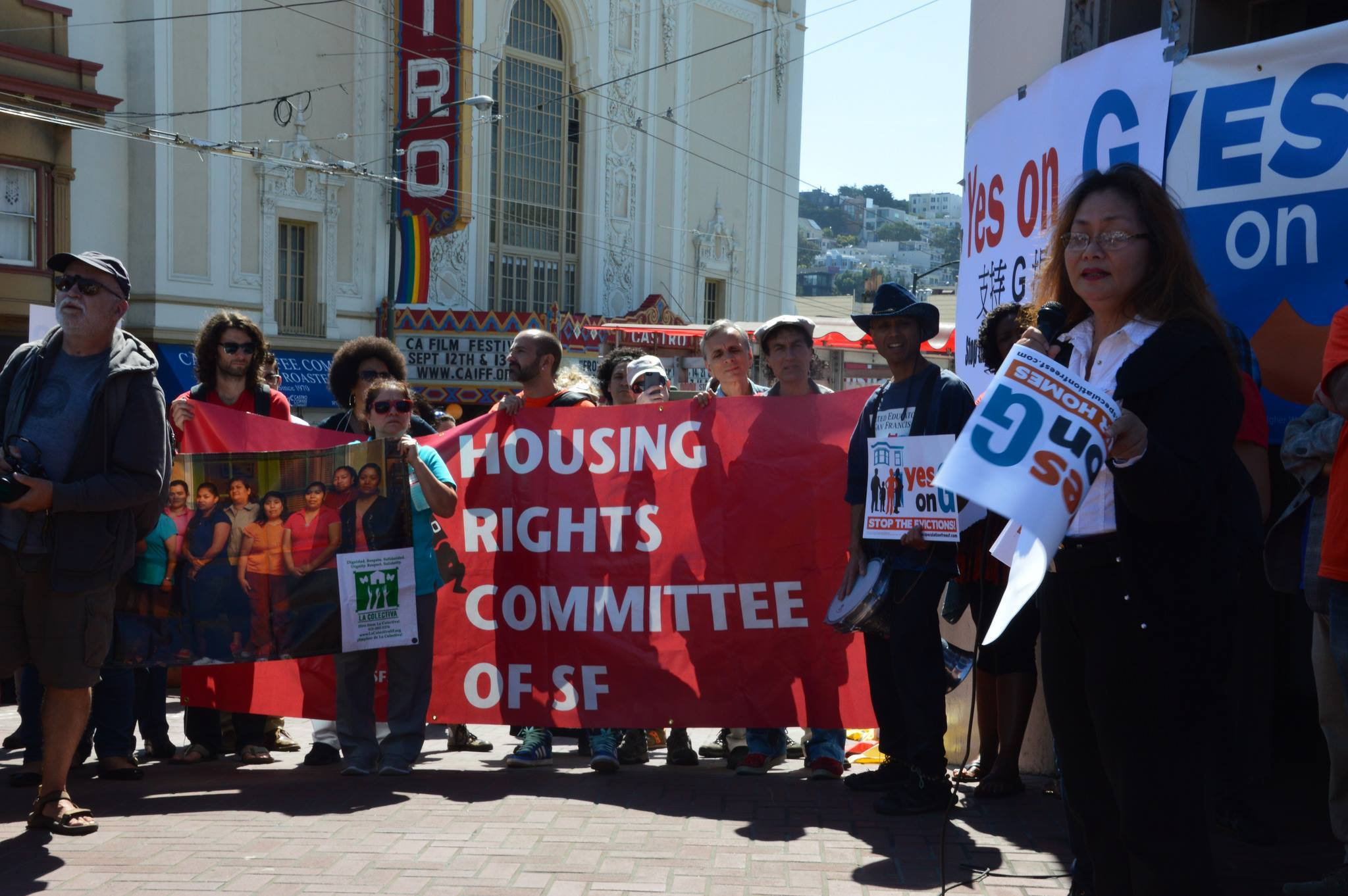 Tenants Convention in D8: Castro, Noe, Duboce @ The Women's Building | San Francisco | California | United States