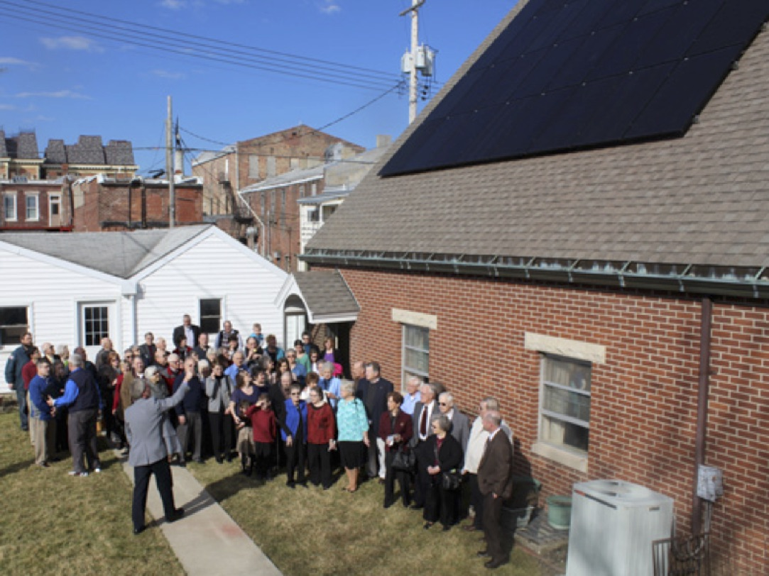 Winchester Friends Solar Dedication