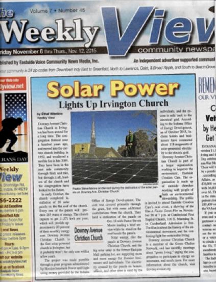Irvington Article