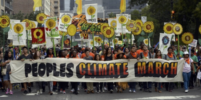 Peoples Climate March in NYC