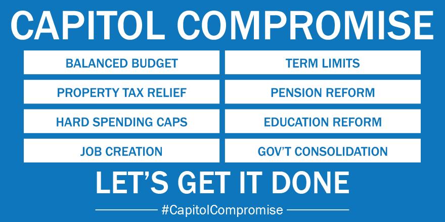Republican Legislators Present Compromise Balanced Budget