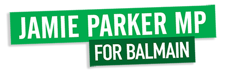 Jamie Parker, MP for Balmain