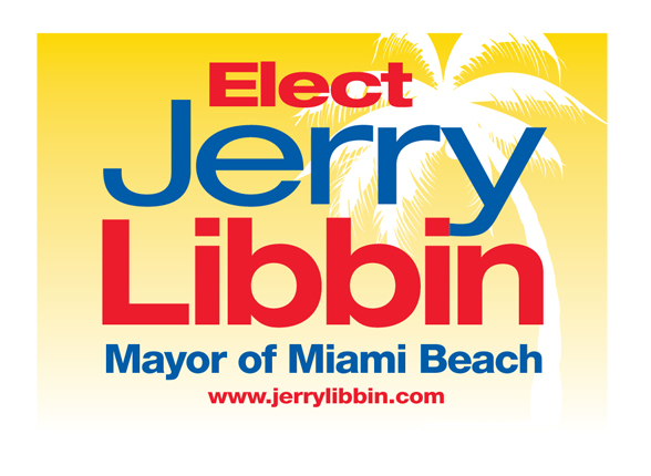 Jerry Libbin for Miami Beach Mayor