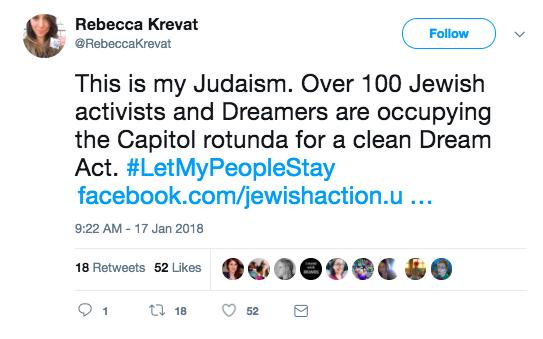 Tweet: this is my Judaism