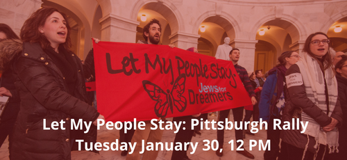 Pittsburgh leaders at Let My People Stay in DC