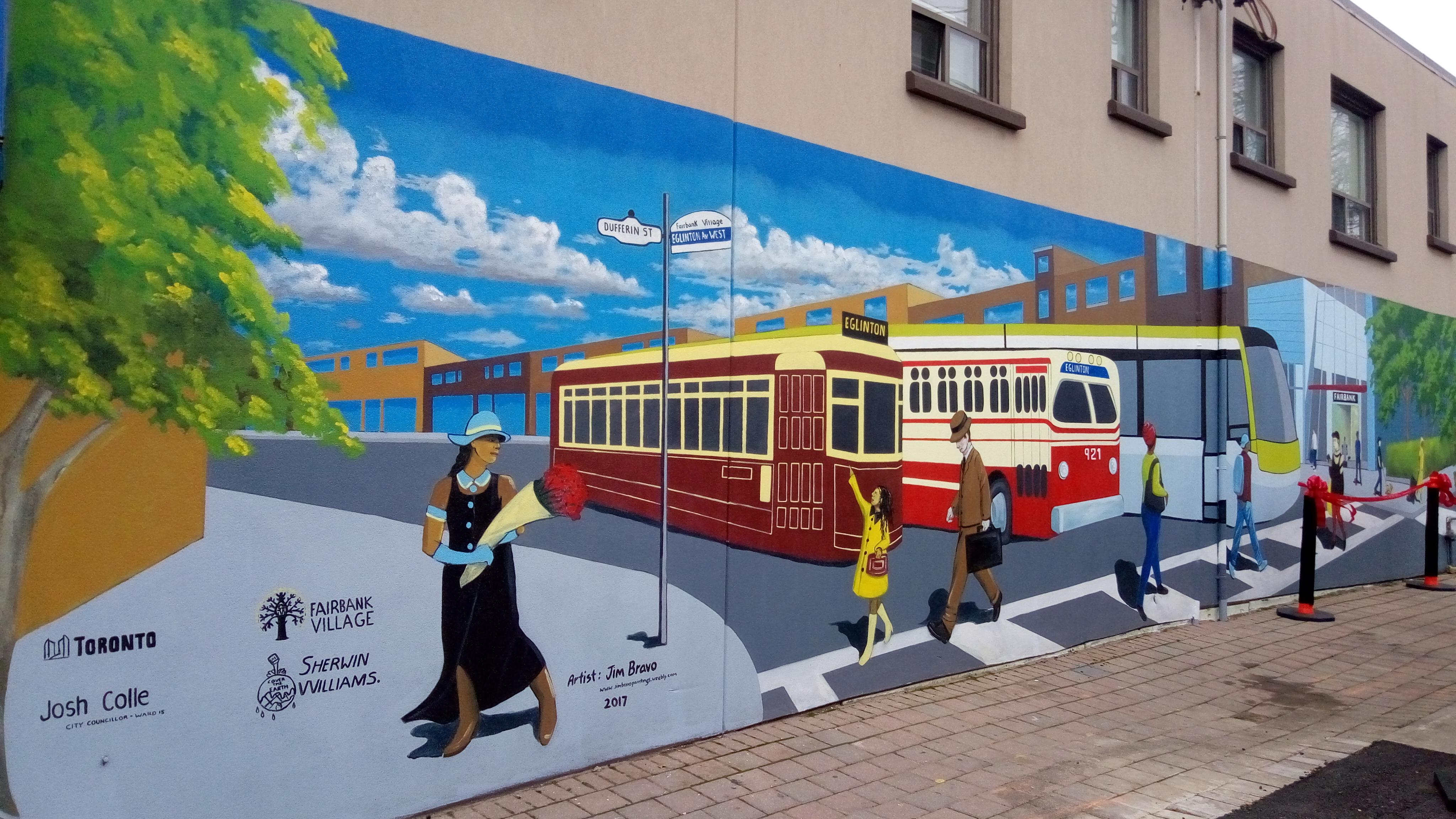 Fairbank Village Mural