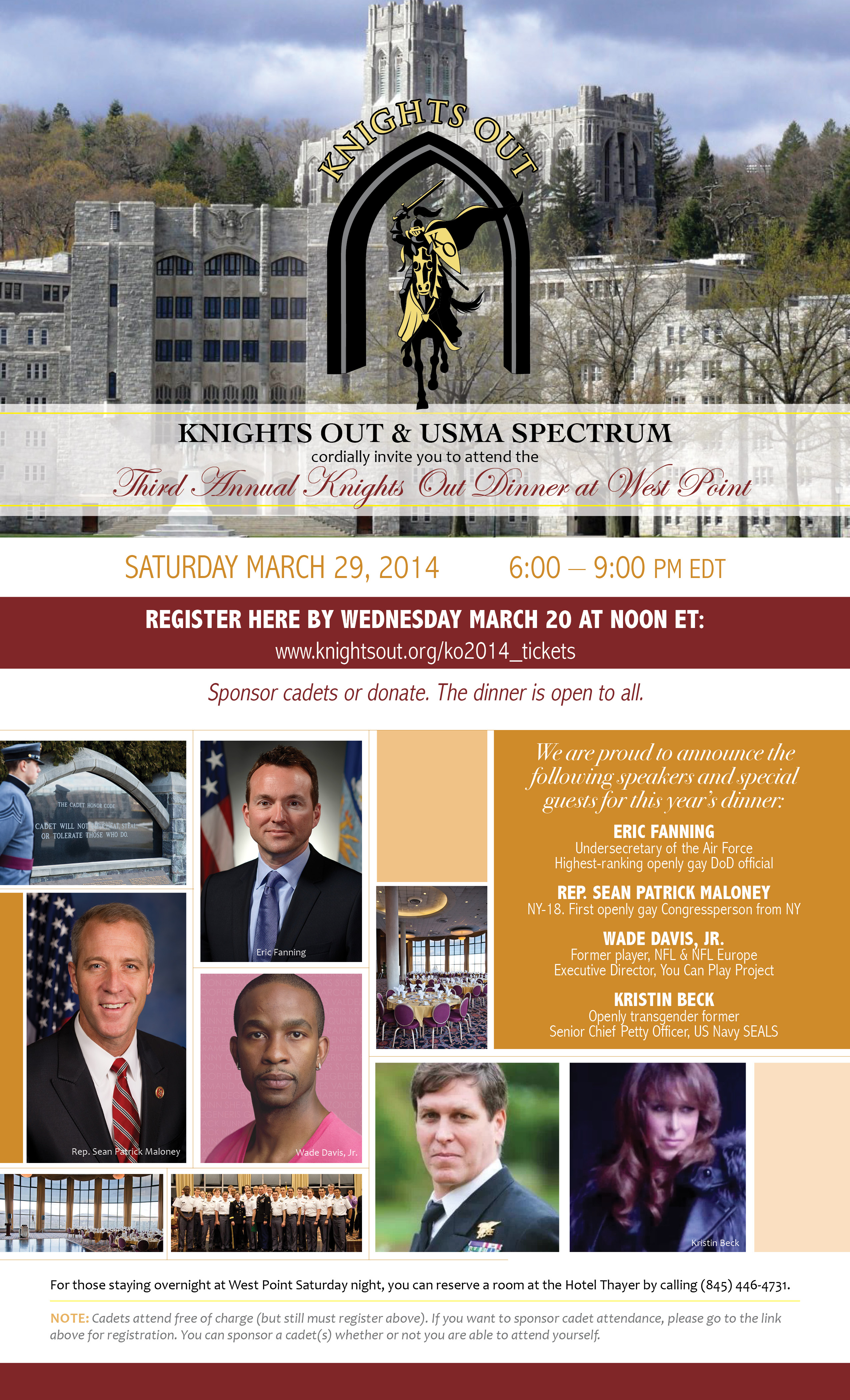 Knights Out Invite
