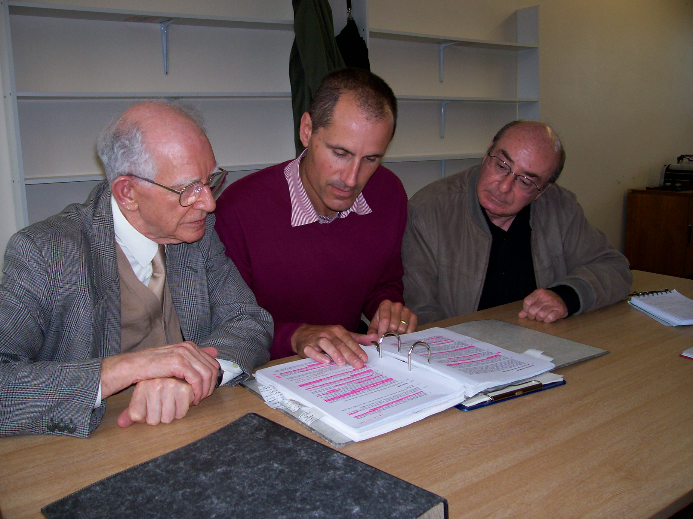 Bill Esterson with members of the CPRE including Des Brennan
