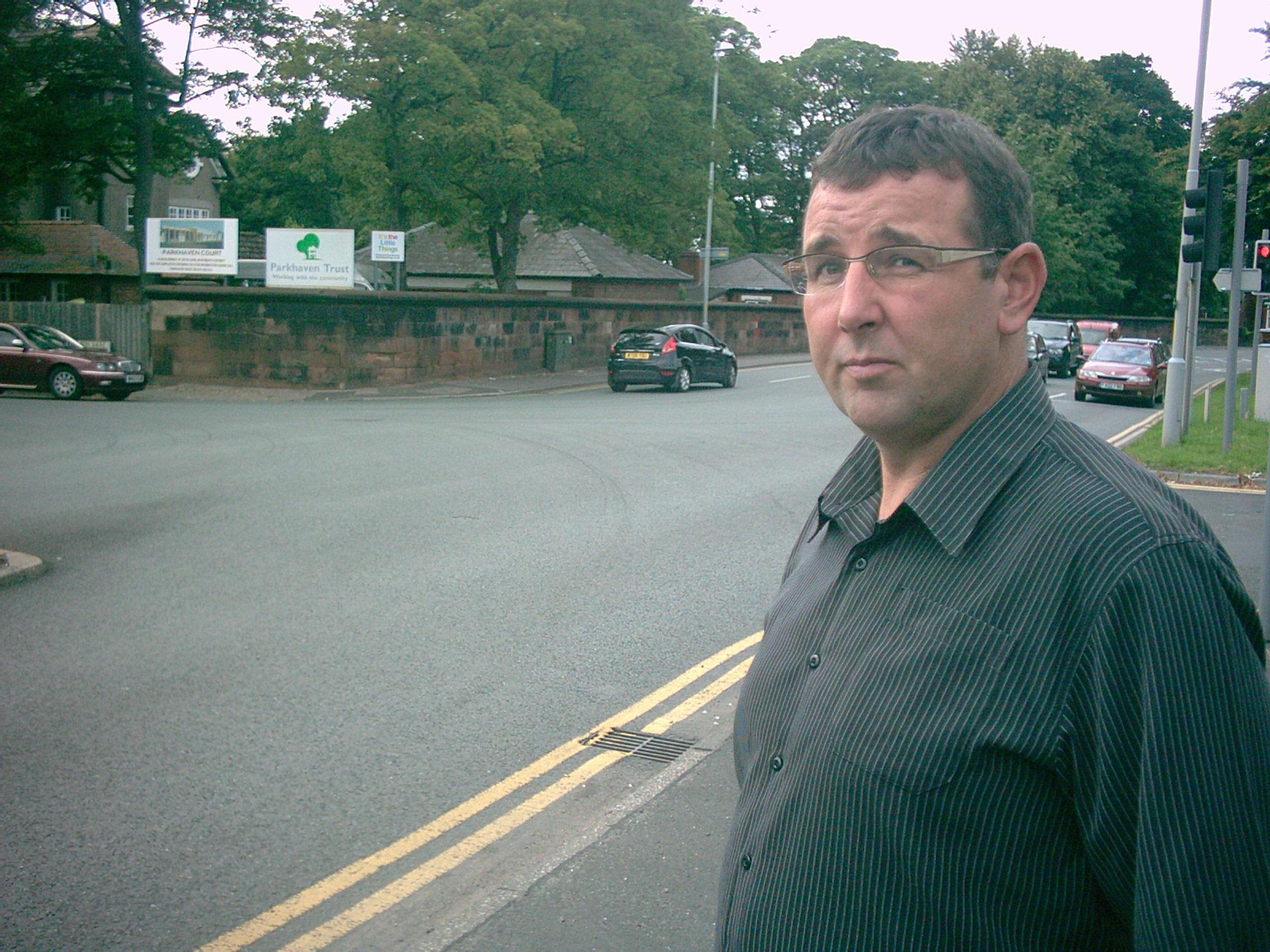 Molyneux Ward Labour councillor Tony Carr