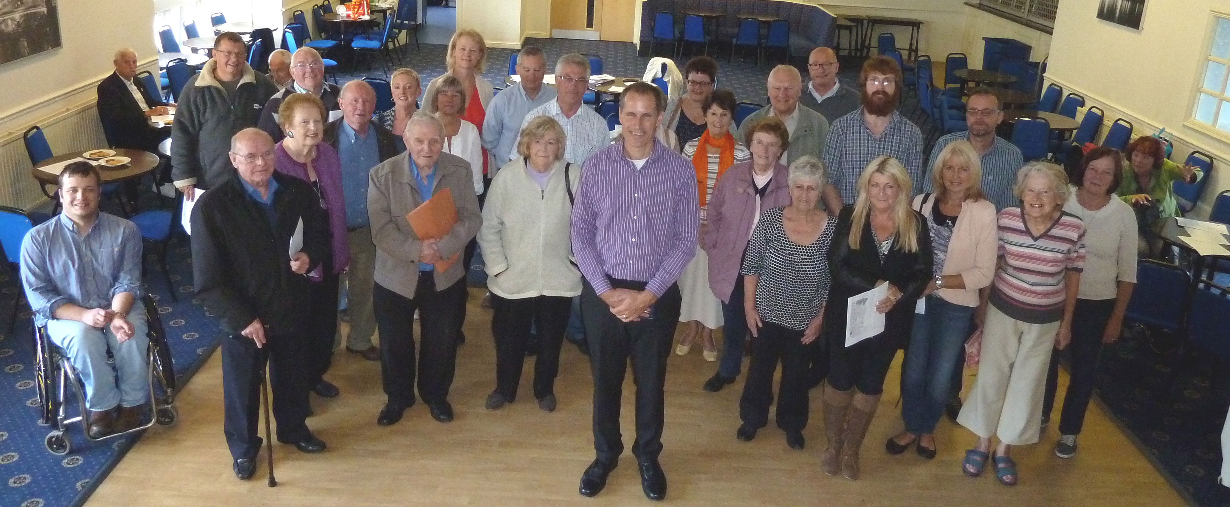 Labour MP Bill Esterson was joined by residents of Maghull and Lydiate at the People's Politics Inquiry event at Maghull Town Hall.
