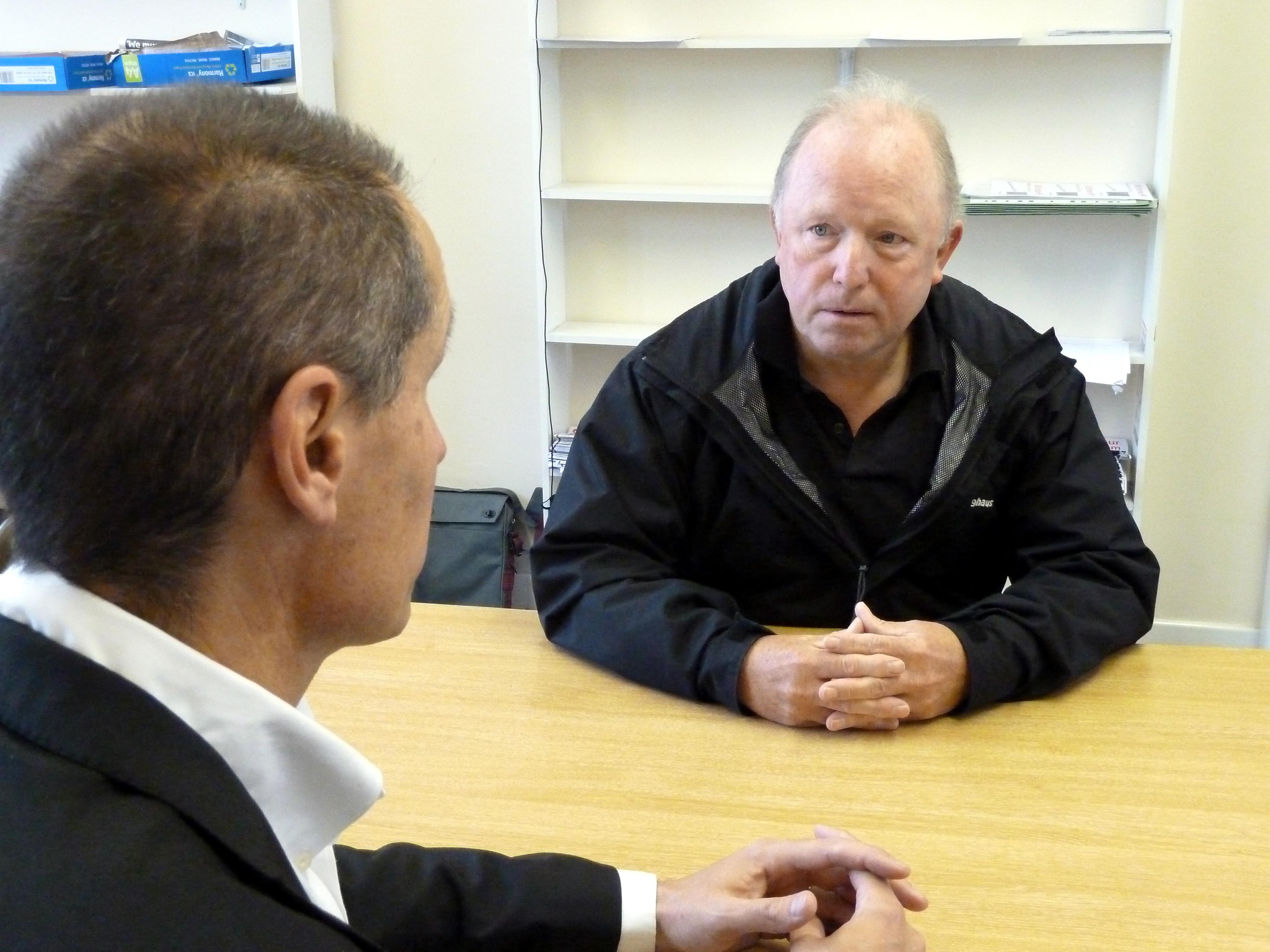 Bill Esterson and John Sayers