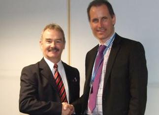 Sefton Central Labour MP Bill Esterson with prison director John McLoughlin during his tour of Altcourse Prison.