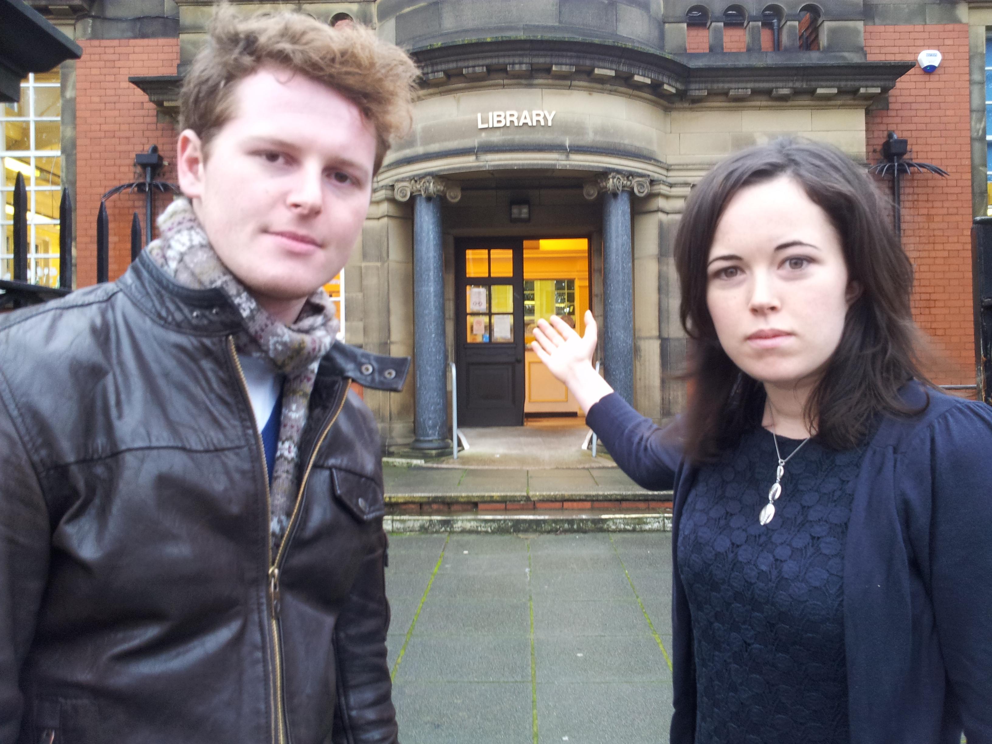 Ben Murphy and Veronica Bennett