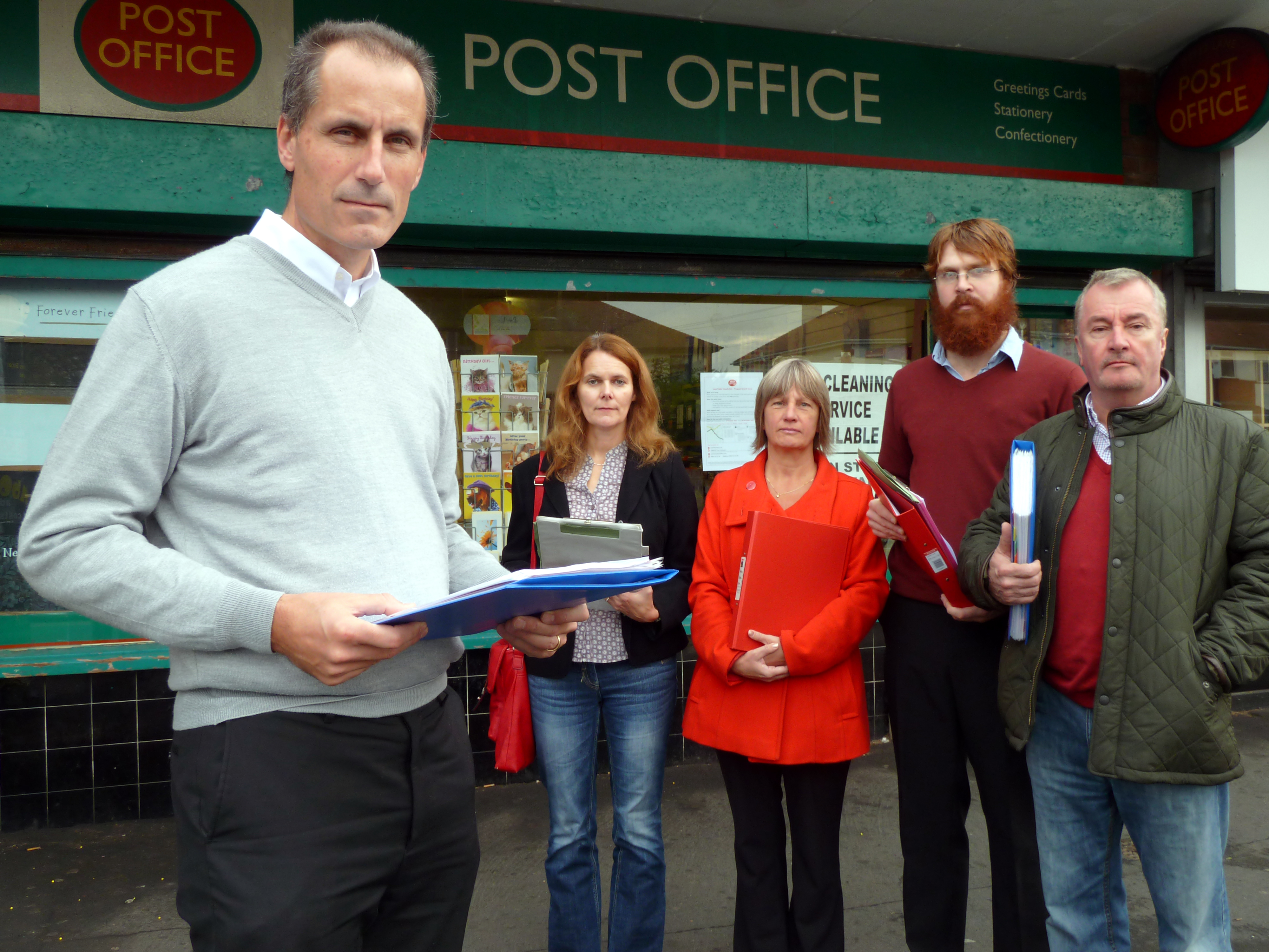 Bill Esterson and members of the Maghull Labour Action Team