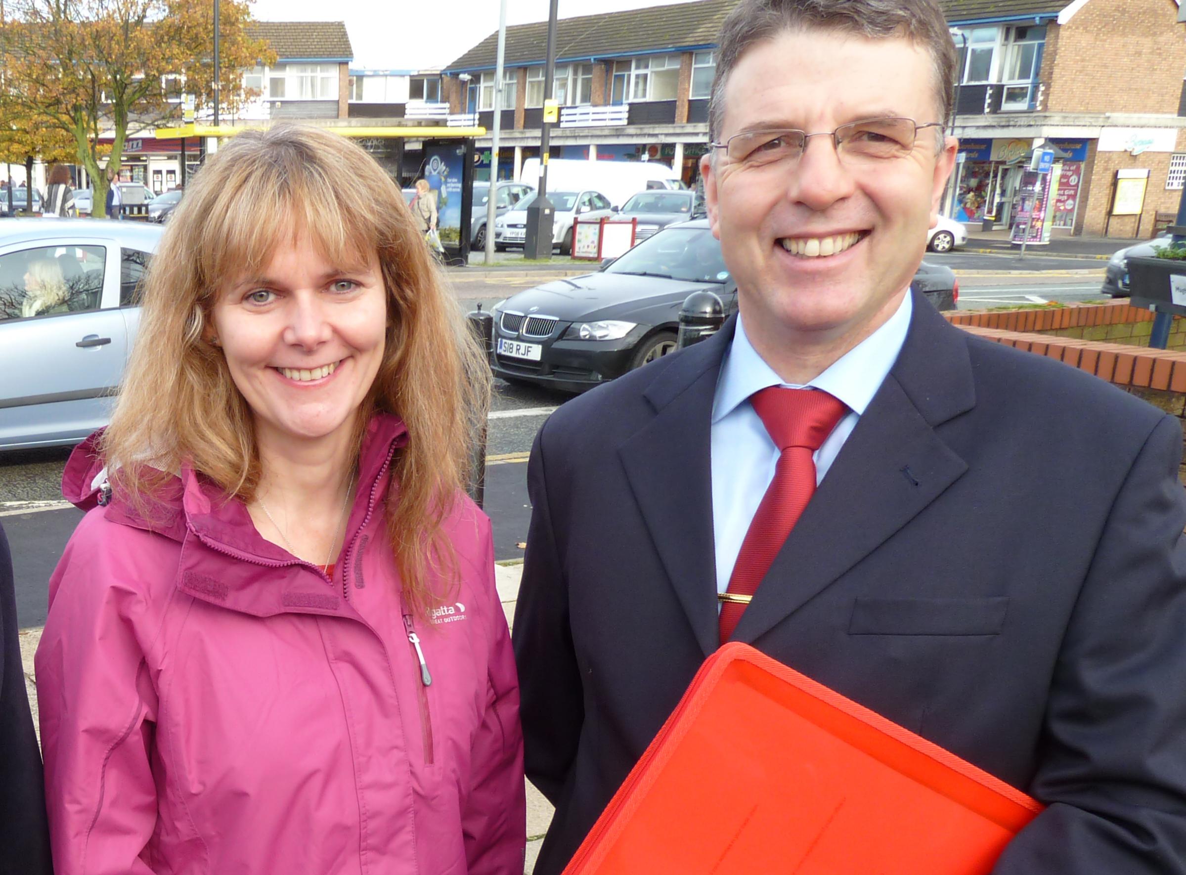 Lynn Gatherer and Steve Kermode