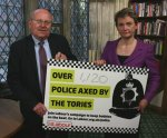 Mike Gapes and Yvette Cooper condemn Police cuts