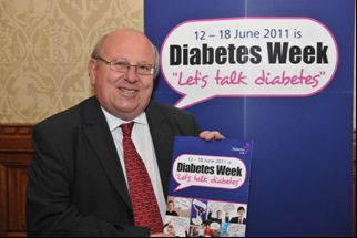 mike supports talk diabetes