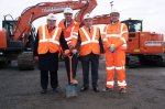 Crossrail ground breaking ceremony