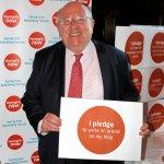 Mike supports meningitis campaign