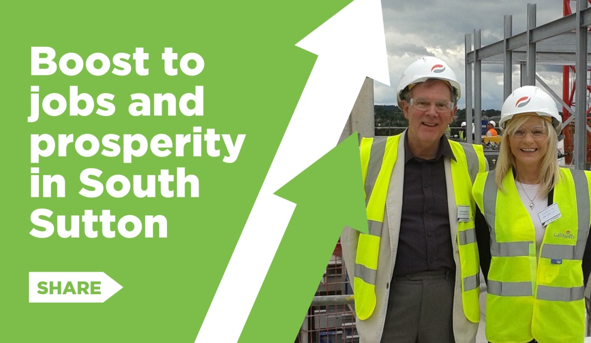 a boost to jobs and prosperity in south sutton