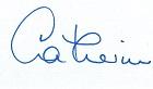 Catherine Beader Signature
