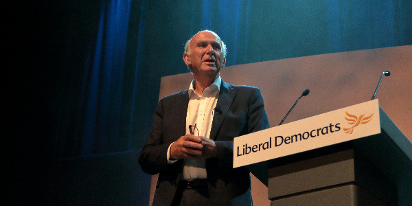 Tune in tomorrow! Vince Cable will be giving his first speech as leader, like our Facebook page so you dont miss out!