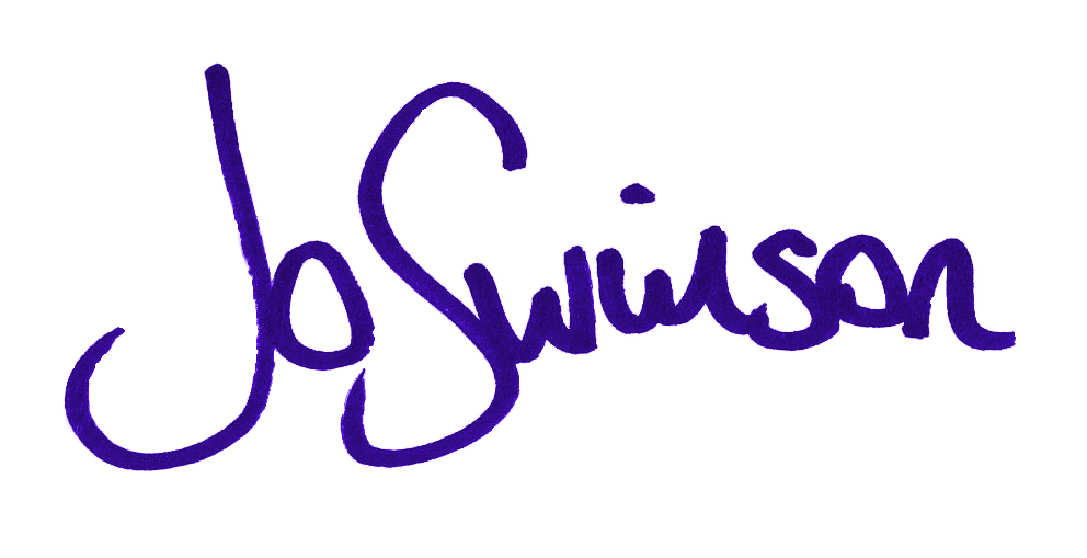 Jo Swinson, signature