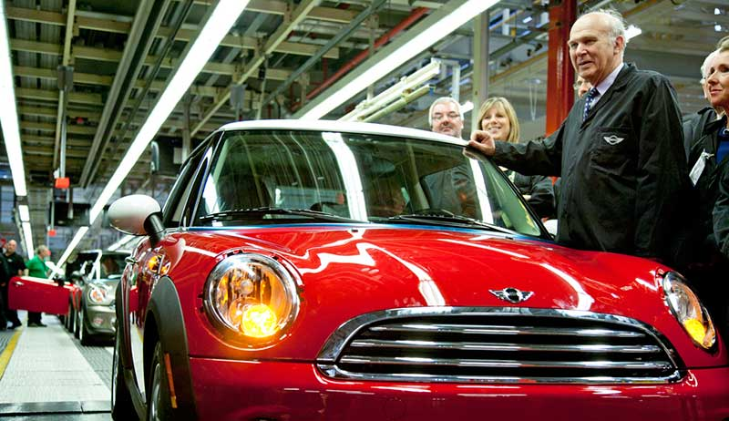 Vince car industry uk manufacturing Europe